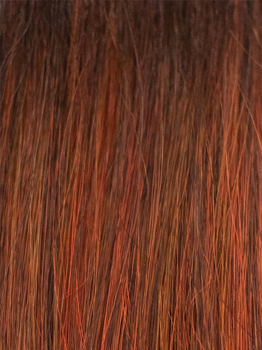 RED COPPER | Copper-toned deep red with dark roots