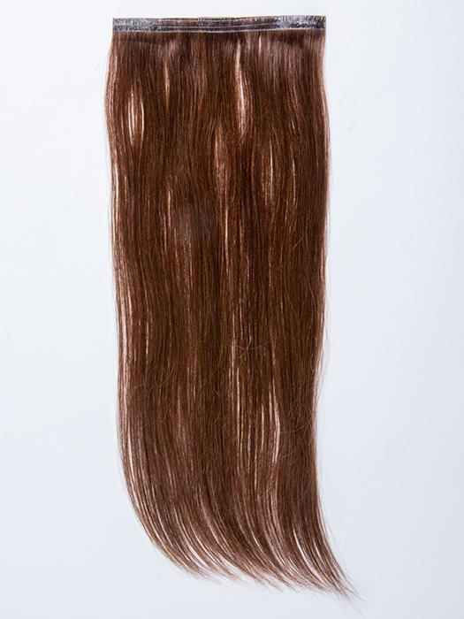 "easiPieces 16"" L x 6"" W by easiHair in color 8 COCOA 
