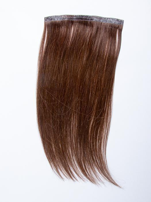 "easiPieces 12"" L x 6"" W by easiHair in color 8 COCOA 