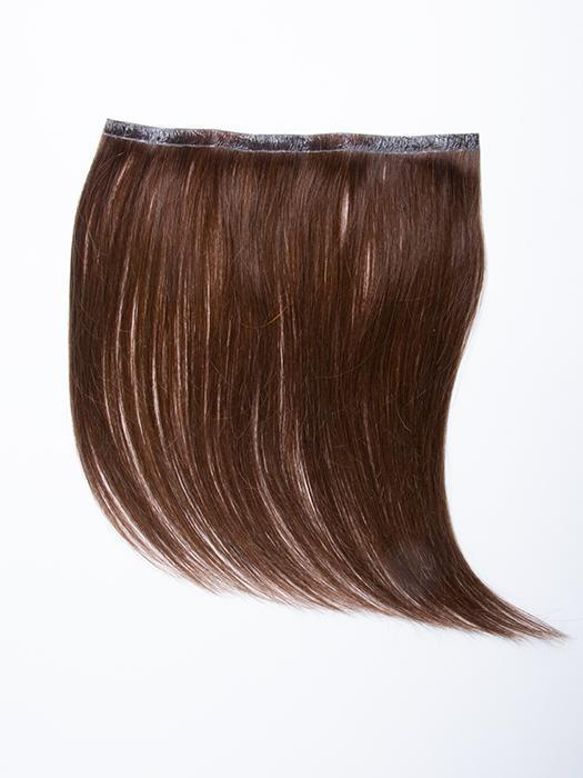 "easiPieces 12"" L x 9"" W by easiHair in color 8 COCOA 
