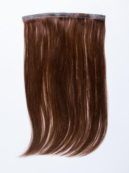 "easiPieces 16"" L x 9"" W by easiHair in color 8 COCOA 