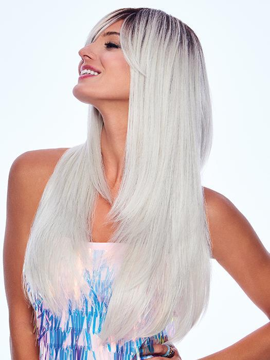 The Sugared Pearl Wig by Hairdo allows you to wear it down or up and create all the looks you can imagine