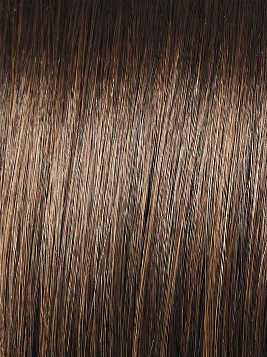 RL8/12SS ICED MOCHA | Medium Brown shaded with Dark Blonde