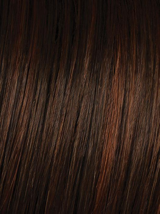 R6/30H CHOCOLATE COPPER | Chestnut Brown with Medium Auburn Highlights