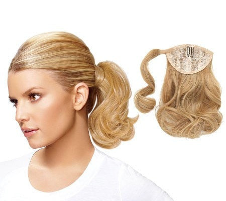 Wavy Bump Up Pony by Jessica Simpson
