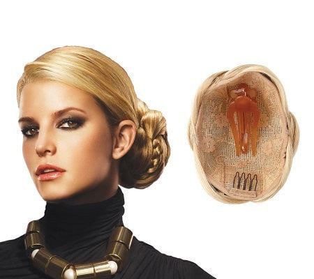 Braided Chignon by Jessica Simpson