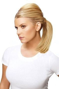 Straight Mid Bump Up Pony by Jessica Simpson