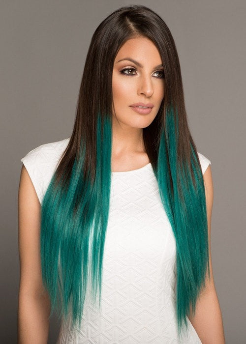 Color #2/Teal | Blends In with Medium To Thick Hair