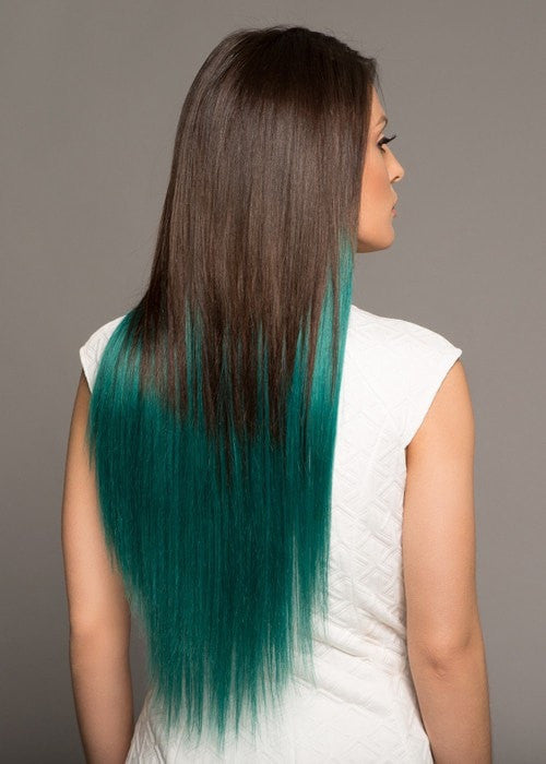 Color #2/TEAL | 100% Remy Human Hair