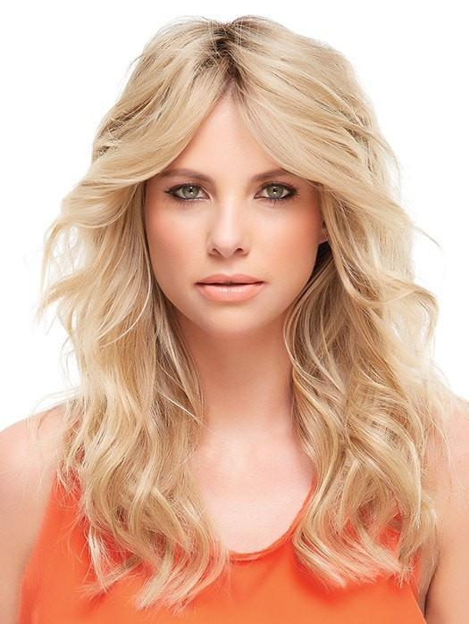 "Color 12FS8 = Pecan Praline: Lt Gold Brown/Honey Blonde/Platinum Blonde Blend | easiPart HH XL 12"" by easihair"