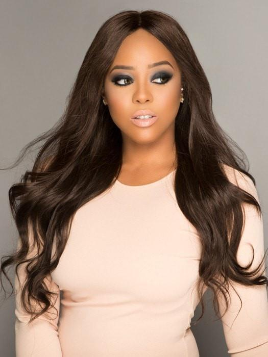 "The hair length measures 18"" inches and is made with the perfect density for creating fullness"