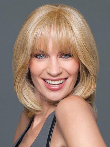 Color GL16-27 = Buttered Biscuit: Medium Blonde with Light Gold highlights | Top Tier by Gabor