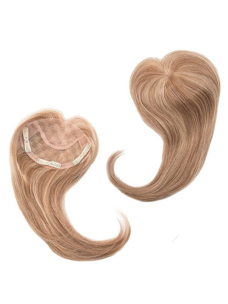 Color Dark-Blonde = 2 toned blend of creamy blonde with champagne highlights | Add-On Front by Envy