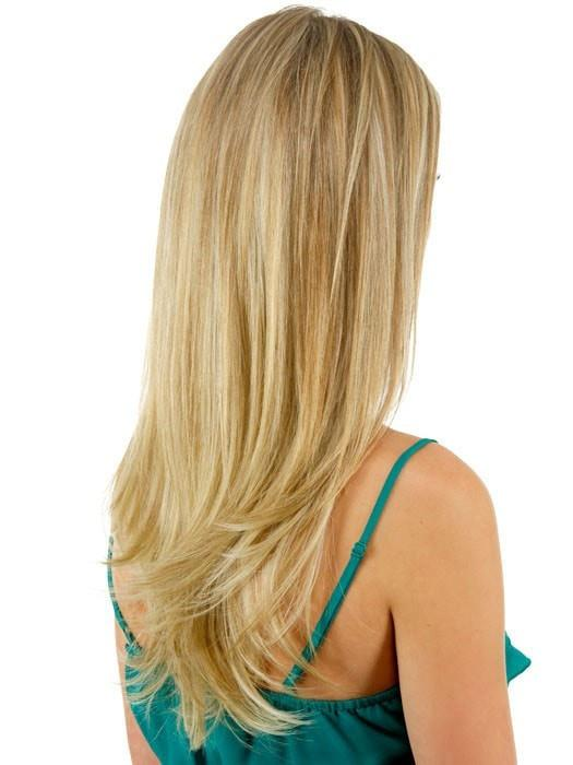 22 Straight Clip In Extension By Hairdo Hair Extensions