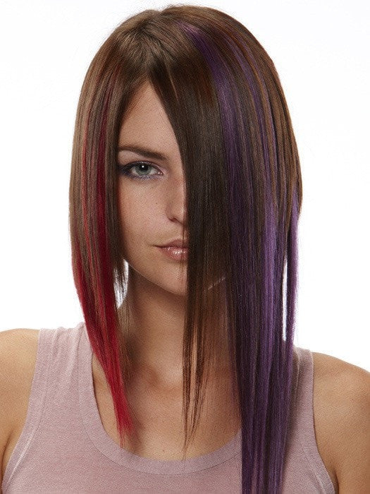 "Color Bubblegum, Redhots, & Amp: Blackberry | 16"" easiLites Clip In Color by easihair"