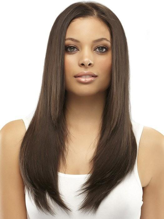 "Color 4 = Brownie Finale: Dk Brown | easiXtend Elite 16"" by easihair"