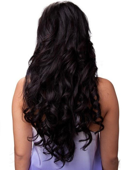 "Color 1B = Hot Fudge: Off Black | 20"" easiXtend Elite by easihair"