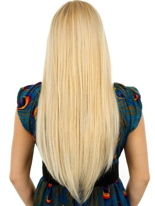 20 easixtend elite by easihair remy human hair hair color 613 white chocolate warm platinum blonde pmusecretfo Image collections