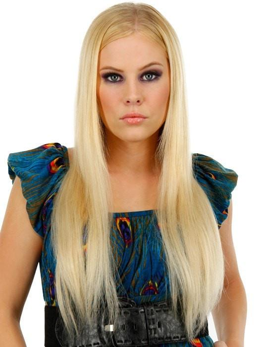 Color 613 = White Chocolate: Warm Platinum Blonde | 20' easiXtend Elite by easihair
