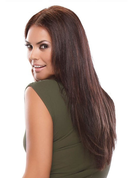 "Color 33 = Boysenberry Treat: A Dark Auburn | Straight easiXtend 20"" by easihair"