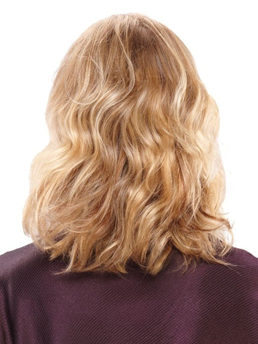 Color 12F = Pecan Praline: Lt Gold Brown/Honey Blonde/Platinum Blonde Blend