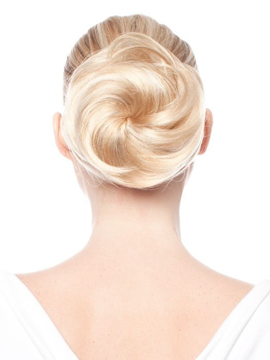 Elegance by easihair hair bun hair extensions color 24b613 butter popcorn honey blonde warm platinum blonde blend elegance by easihair pmusecretfo Image collections