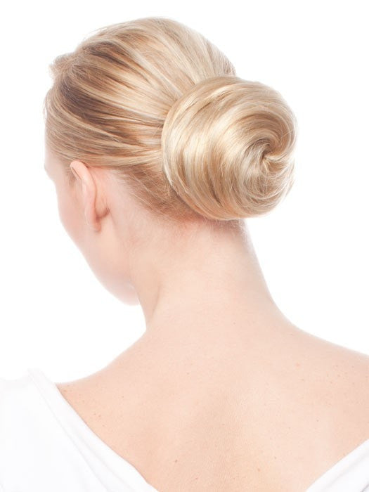 Elegance by easihair hair bun hair extensions color 24b613 butter popcorn honey blonde warm platinum blonde blend pmusecretfo Image collections