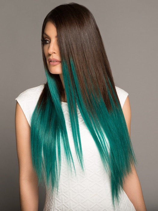 Color #2/TEAL | Long and Lucious