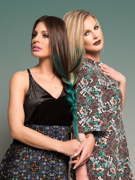 Color #2/TEAL | Color #18/TEAL | Blends With Any Hair Type