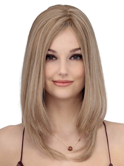 Color Sunny Blonde Brown | Toppiece 4003 by Louis Ferre