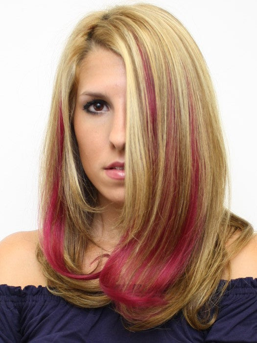 16 Human Hair Clip In Color Strips By Hairdo Hair Extensions Com