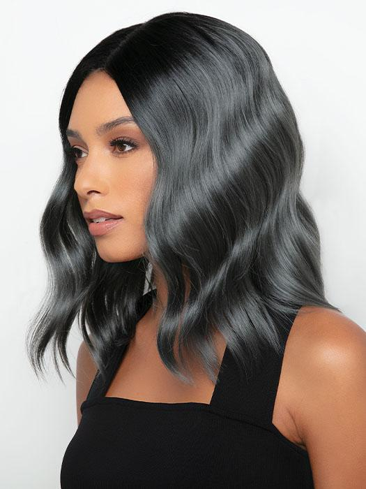 Shoulder length with textured beachy waves