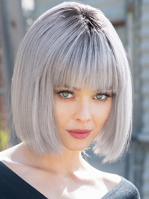 The Nico Wig by Rene of Paris is a sleek and effortless chin-length bob style for all face shapes.