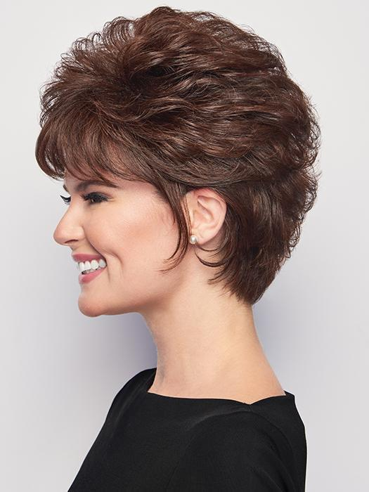 Whether worn tousled or smooth, this versatile cut exemplifies cool and easy styling