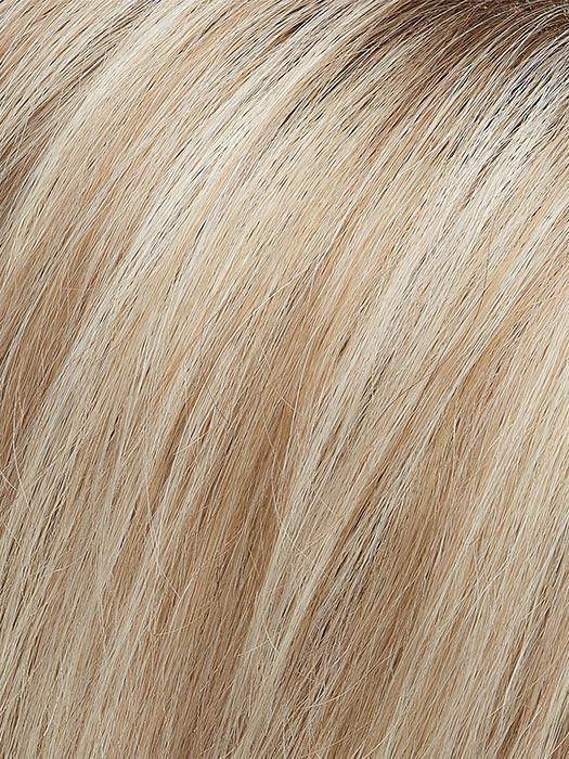 FS17/101S18 PALM SPRINGS BLONDE | Light Ash Blonde with Pure White Natural Violet Bold Highlights, Shaded with Dark Natural Ash Blonde