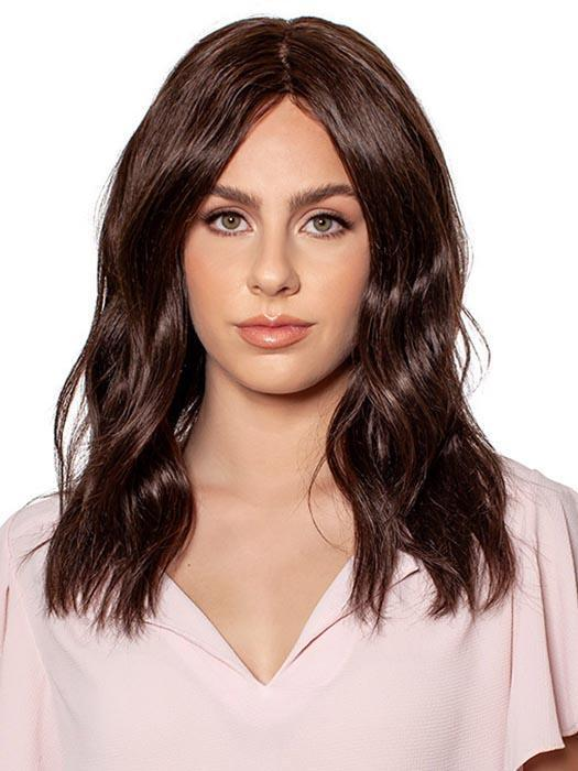 NATURAL LACE TOP B by WIG PRO in 2 | Darkest Brown