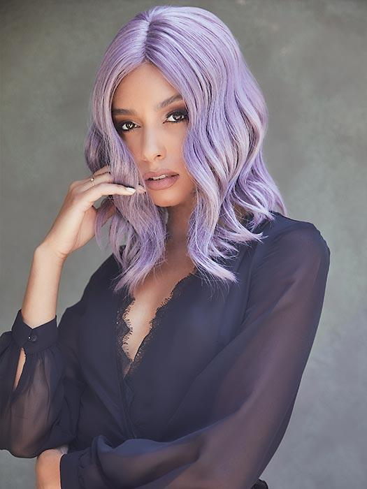 VELVET WAVEZ by Rene of Paris in LILAC-CLOUD | Smoky Fused Lilac