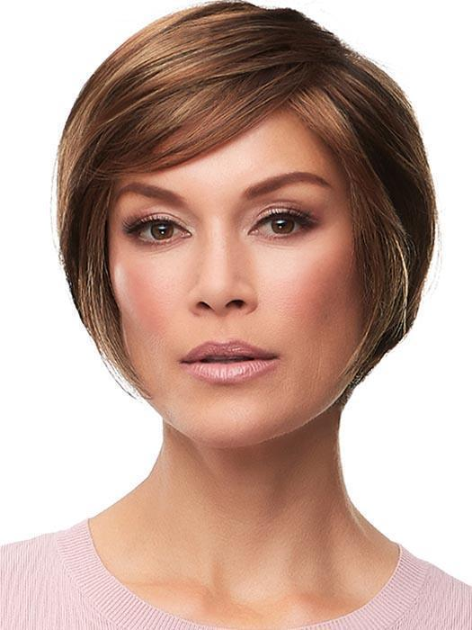 GABRIELLE by JON RENAU in FS6/30/27 TOFFEE TRUFFLE | Brown, Medium Red-Gold, Medium Red-Gold Blonde Blend with Medium Gold Blonde Bold Highlights
