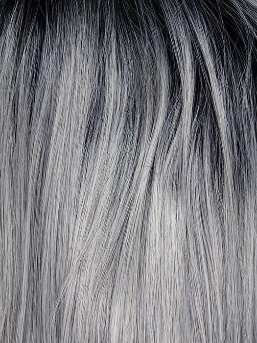 SILVER-MIST | Blue Toned Silver with Dark Roots