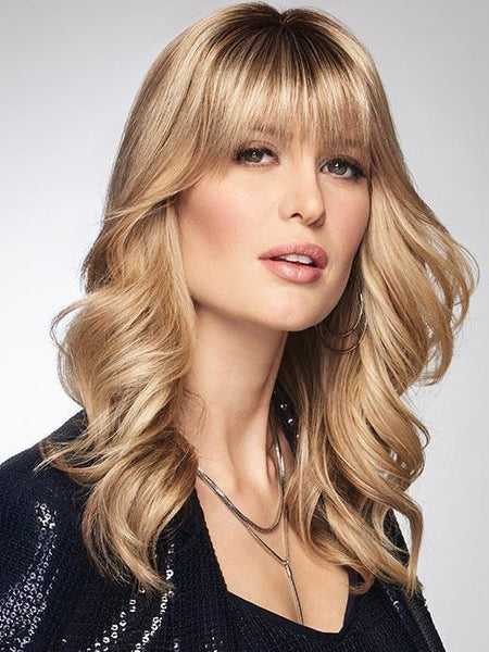CHAMELEON by RAQUEL WELCH on R14/88H GOLDEN WHEAT | Dark Blonde Evenly Blended with Pale Blonde Highlights