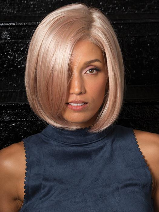 JAMISON by Estetica in SMOKY-ROSE | Platinum Blonde and Soft Pink Blend