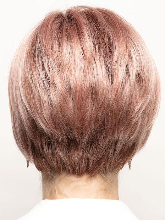WATERMELON-R | Rich Pastel Pink Base with Subtle Soft Reddish Tone and Soft Dark Brown Roots