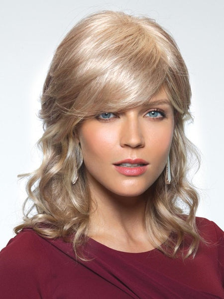 Color Gold-Blonde = Light Blond Blended w. Light Red Highlight Tones | Berlin by Noriko