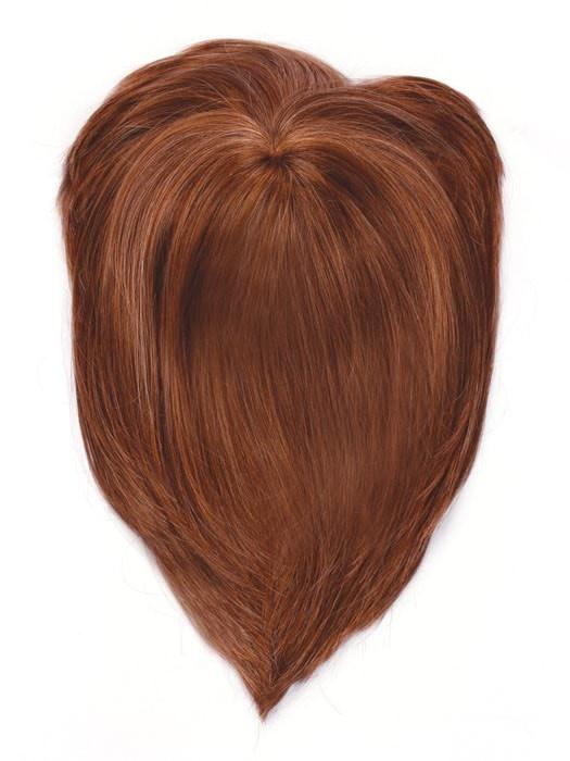 Color R3025S+ = Glazed Cinnamon: Medium Reddish Brown with Ginger Highlights