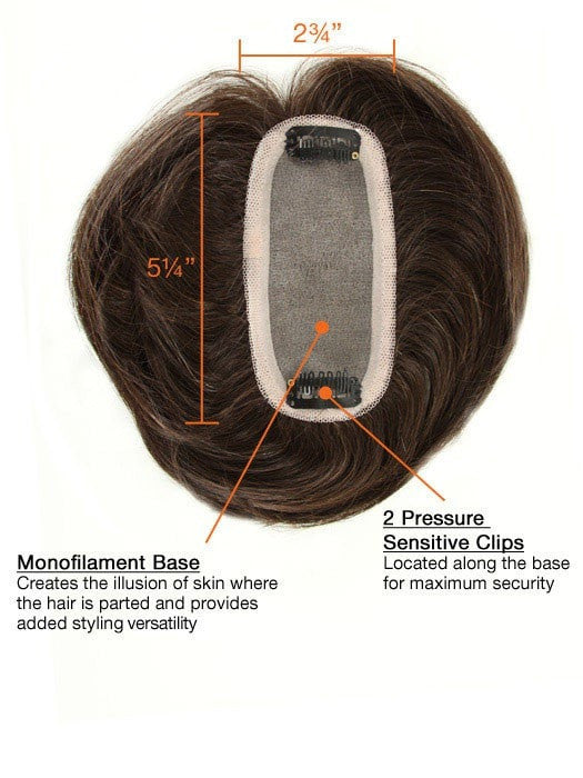 Human Hair Bang by Raquel Welch | Base Details