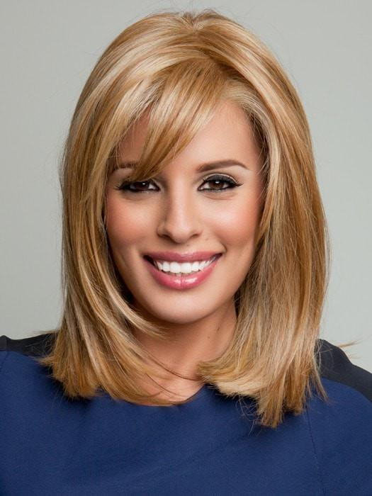 Color RL14/25 = Honey Ginger: Dark Golden Blonde With Light Gold Blonde Highlights | Top Billing by Raquel Welch