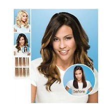 "16"" 10 PC Human Hair Extension Set by Jessica Simpson"