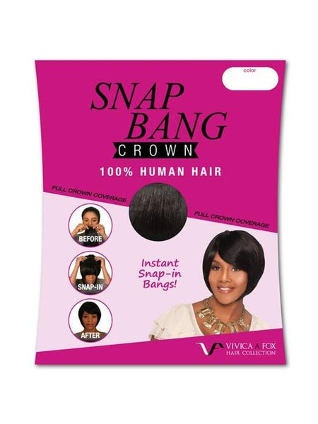 Color N/A | Snap Bang Crown by Vivica Fox