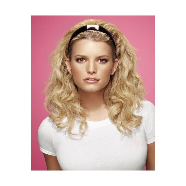 Styleable Headand Fall by Jessica Simpson | Styled Wavy