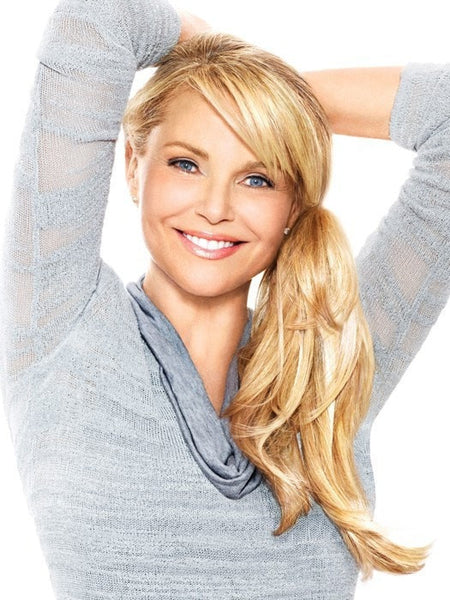Color HT25 = Medium Golden Blonde | The Pony by Christie Brinkley